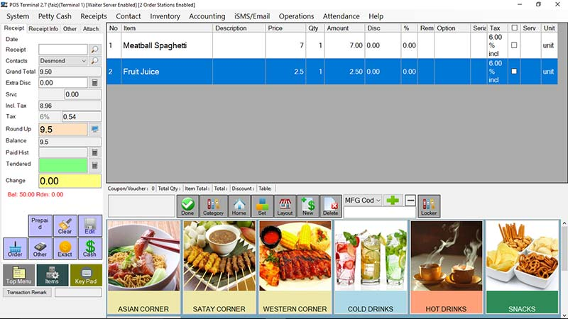 Point Of Sales System Malaysia Online POS Software GST Tax - What is the best invoice app for ipad online jewelry store