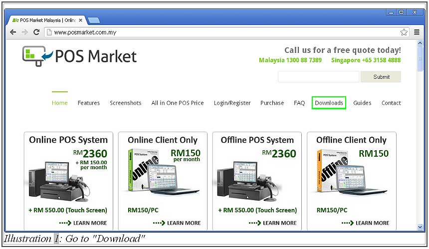 Point of Sales System Malaysia | Online POS System | Offline POS ...