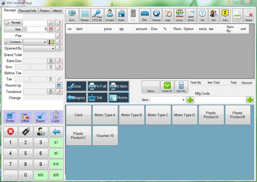 wms warehouse management system pos system unlimited category