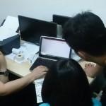 POS System Demo At Johor Bahru Office