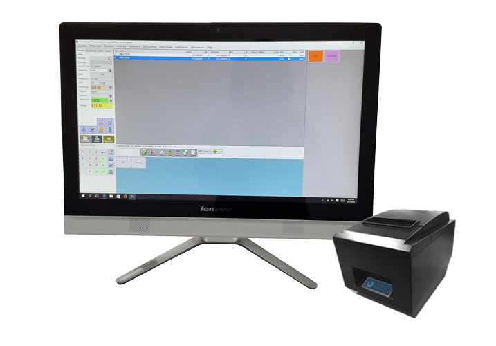 POS System AIO PC HD version Basic