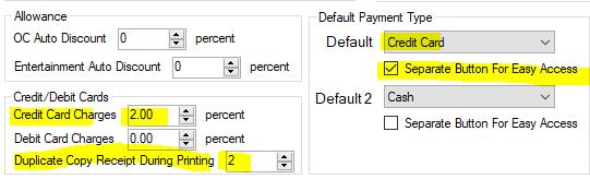 payment shortcut button 1