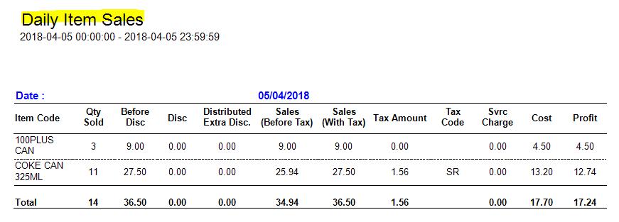sales report 3