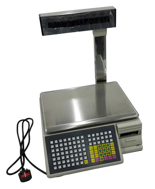 Weight Machine Barcode Label