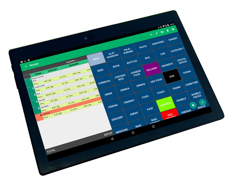 Pos System Basic Standard Amp All In One Bundles Pos