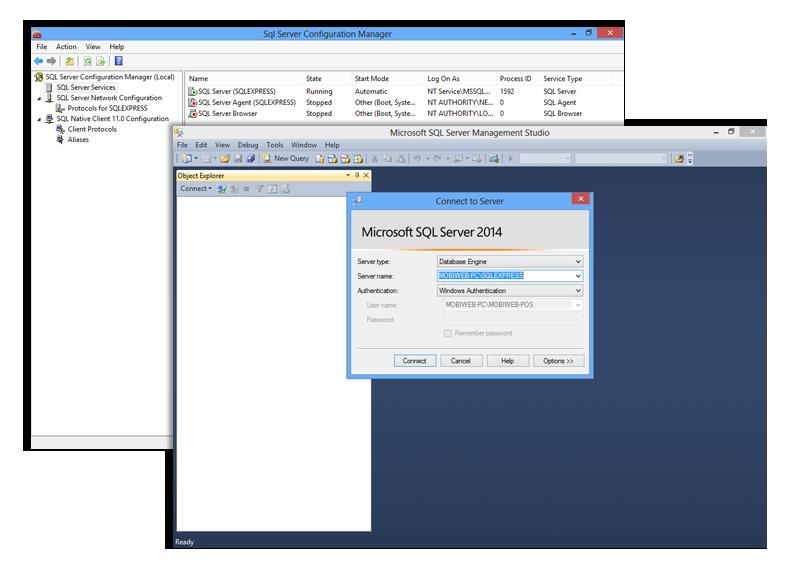 client server pos system