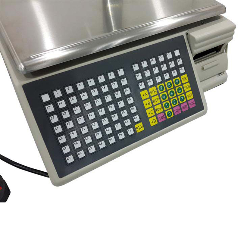 Weight Machine With Barcode Label Printer Pos Market Pos