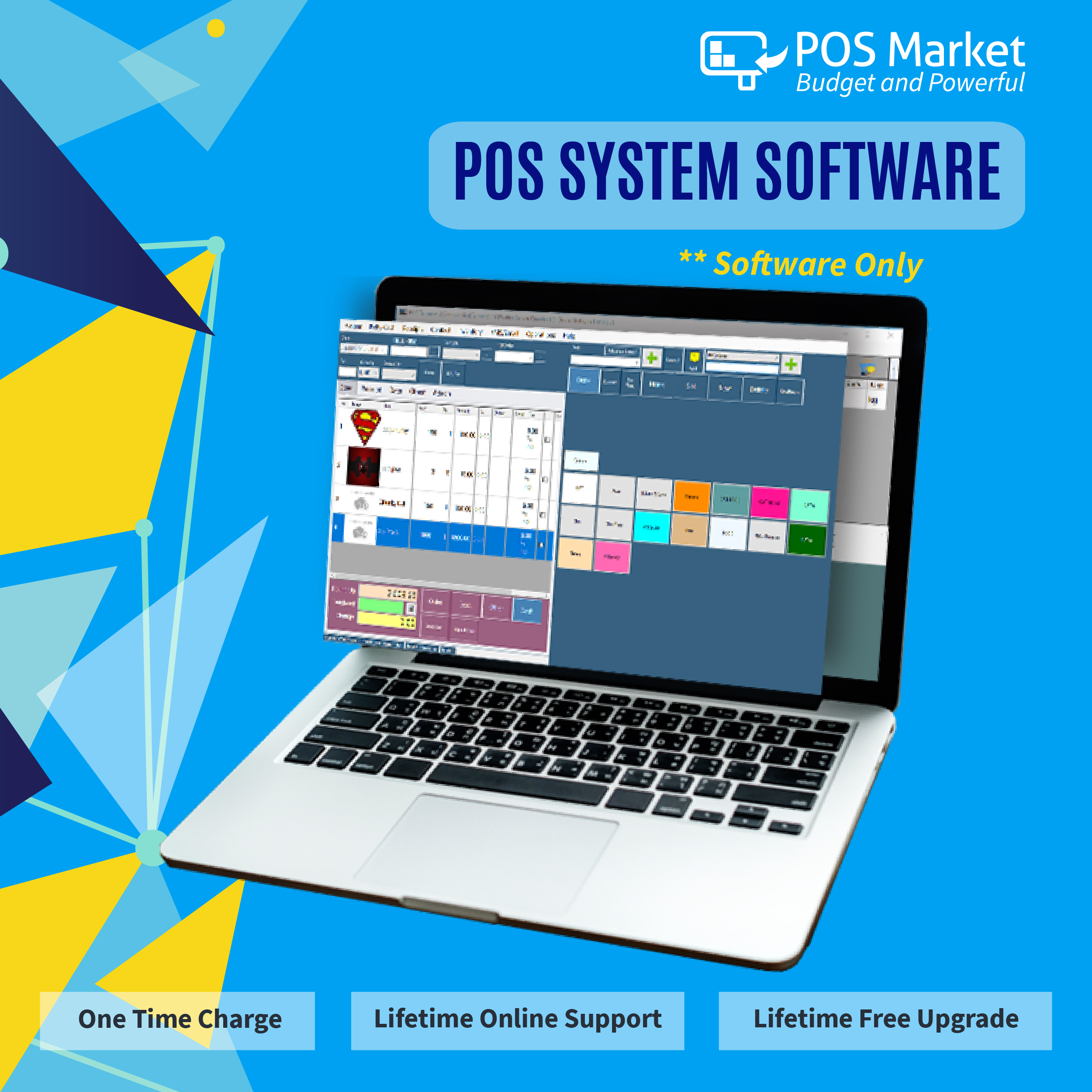 software pos system point sales offline