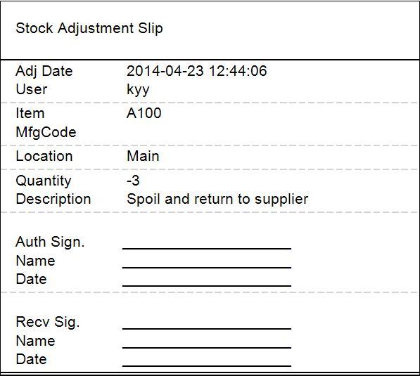 inventory slip pos system