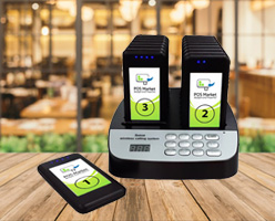 wireless paging system pos system