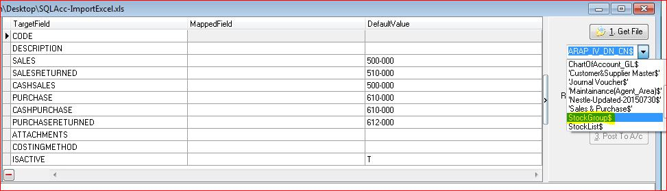 import to sql pos system