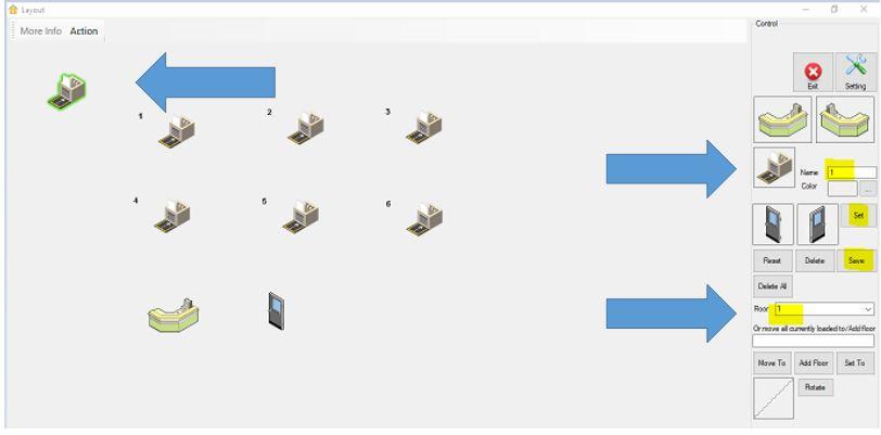 create layout