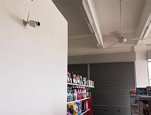 pos market cctv installation