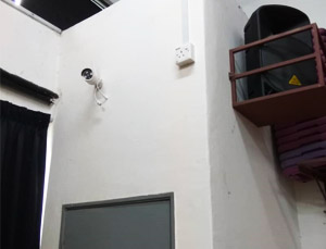 pos system cctv installation gym