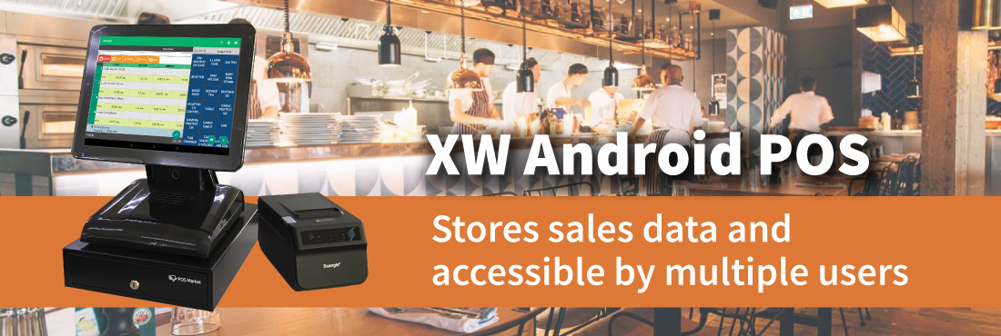 pos system xw android pos