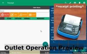 pos system receipt printing