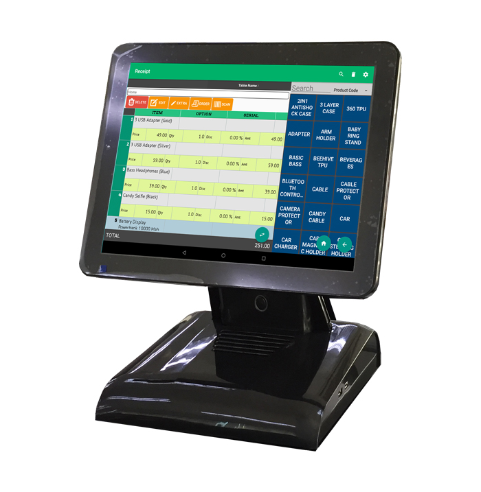 XW Touchscreen