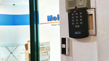 pos system front door access system