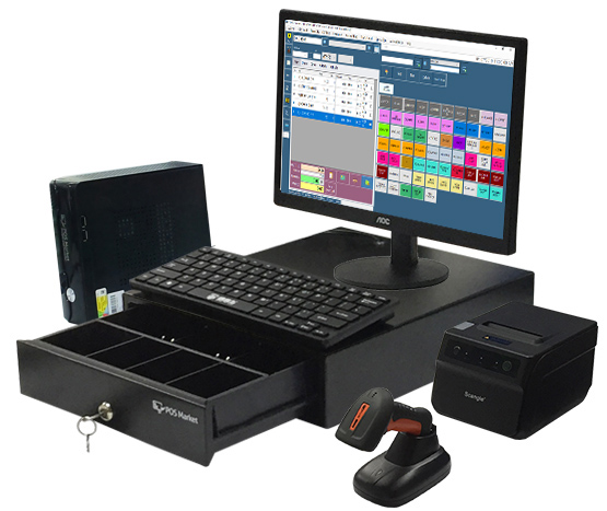 pos system mini pc traditional look