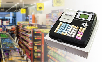 pos system electronic cash register