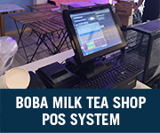 Boba Milk Tea Shop POS System