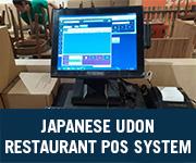 Japanese Udon Restaurant POS System