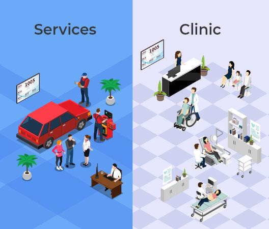 queue manager integration clinic queue management services queue management