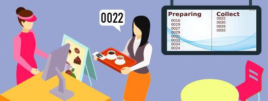 queue manager integration queue management pos system alert customer