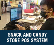 Snack and Candy Store POS System