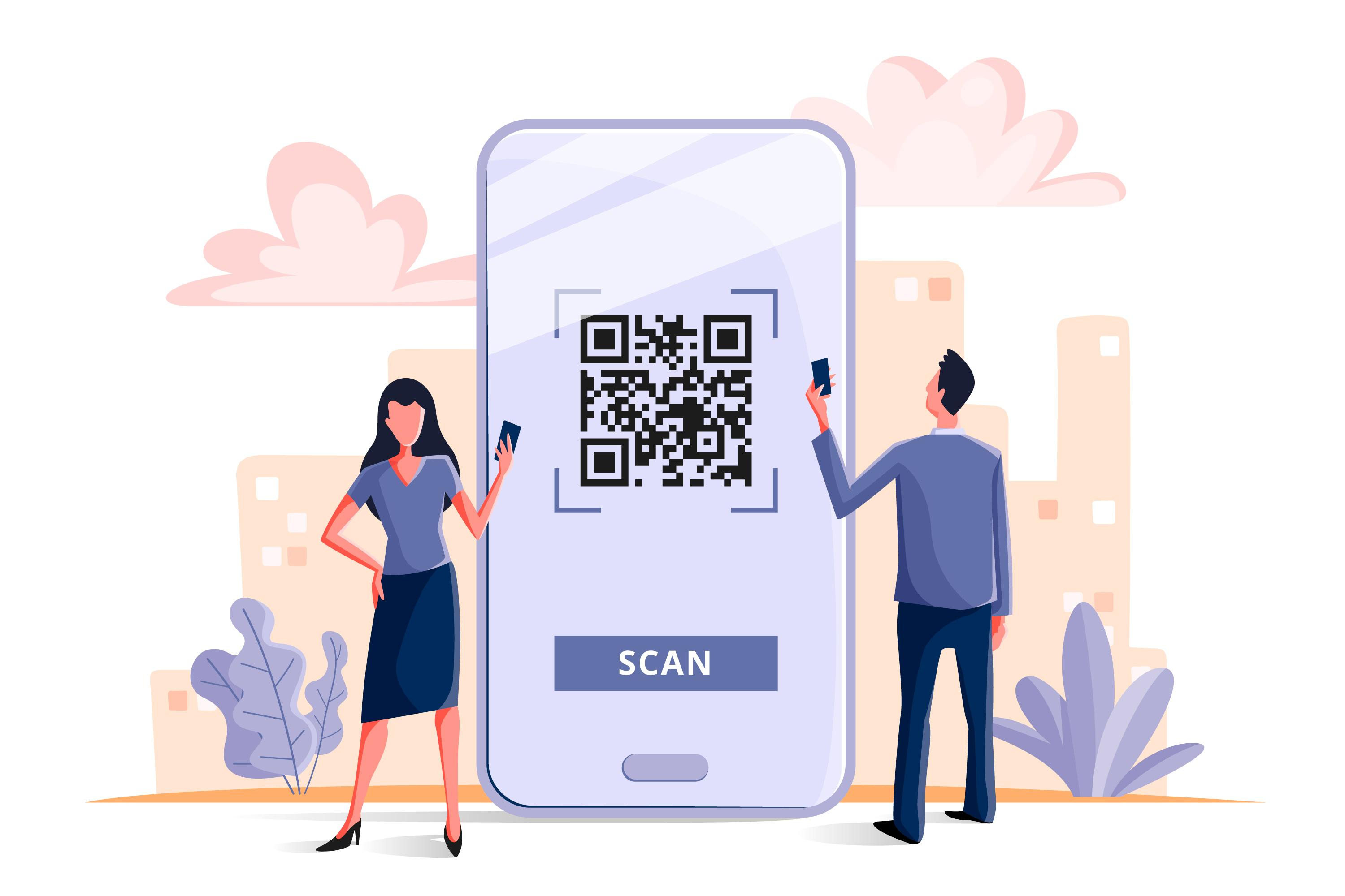 QR Code Function for Membership Point