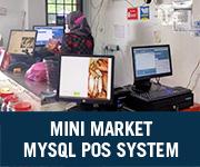 Mini Market MySQL POS System