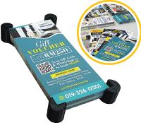 print 6000pcs voucher brochure