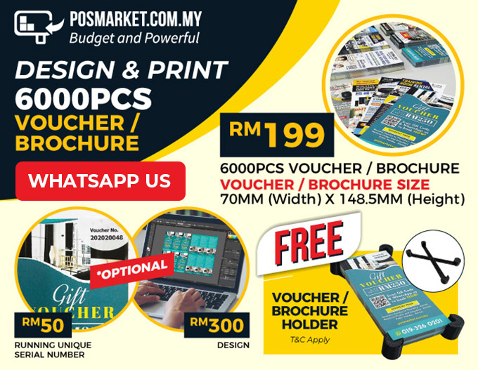 vouchers small flyers printing service malaysia
