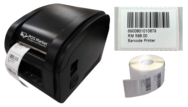thermal barcode printer barcode sticker