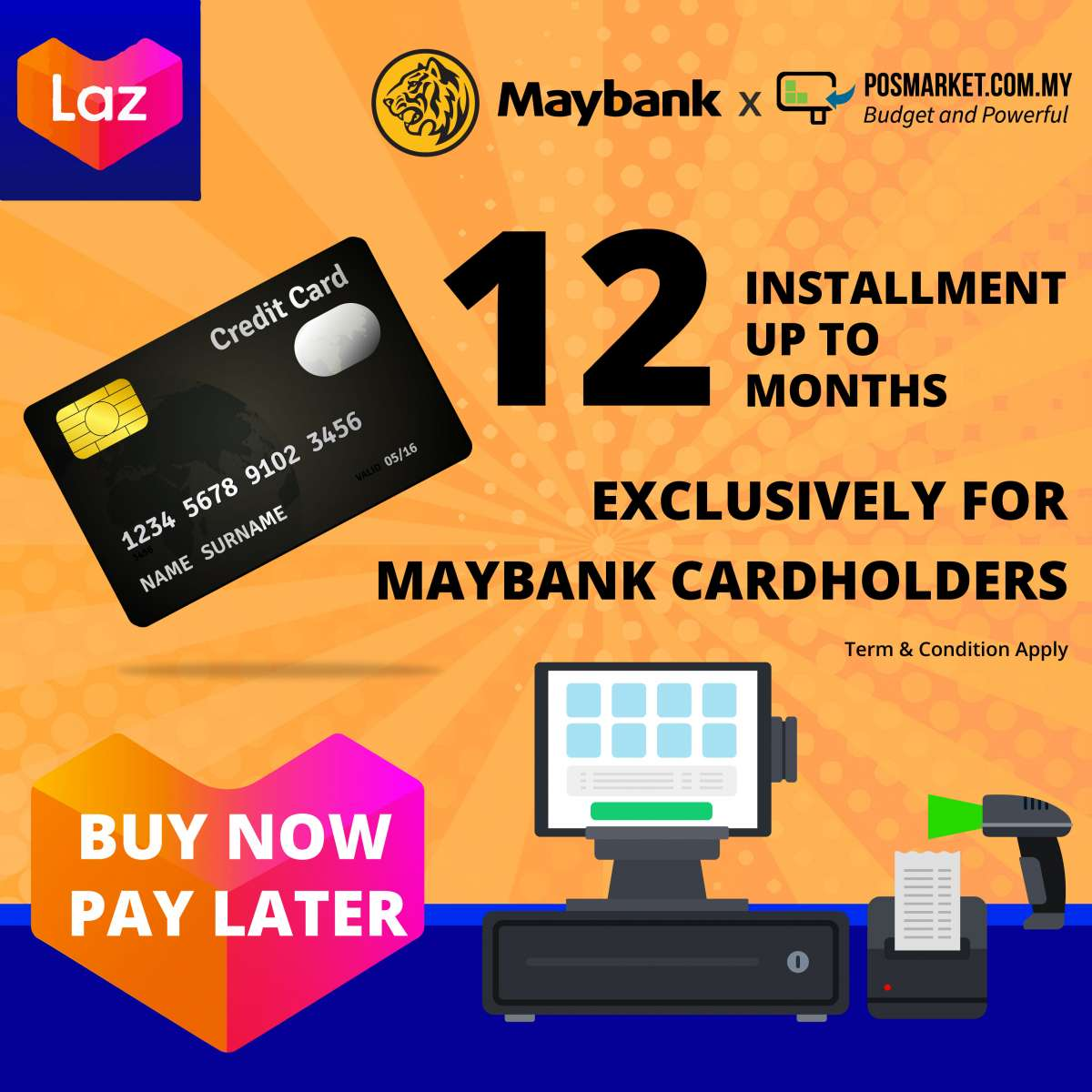 Maybank Credit Card Installment