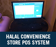 Halal COnvenience Store POS System
