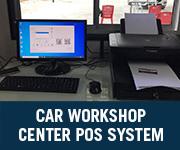 Car Workshop Center POS System