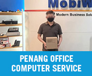 Computer Service Walk in Customer Penang