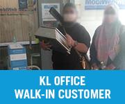 KL Office Walk in Customer