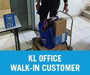 POS System Walk in Customer KL
