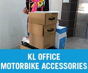 Motorbike Accessories Walk in Customer KL