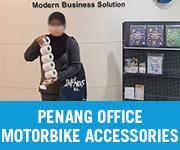 Motorbike Accessories Walk in Customer Penang